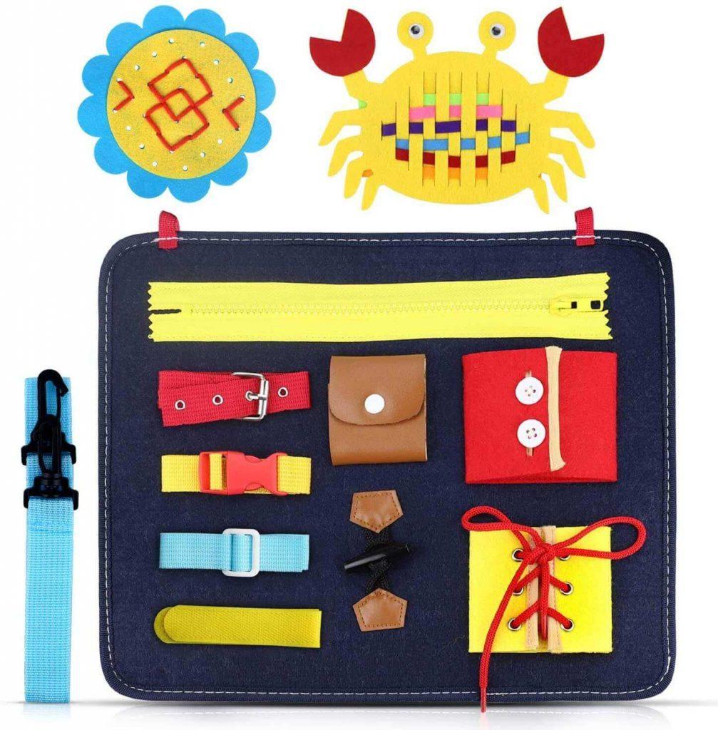 Busy board Montessori de colores