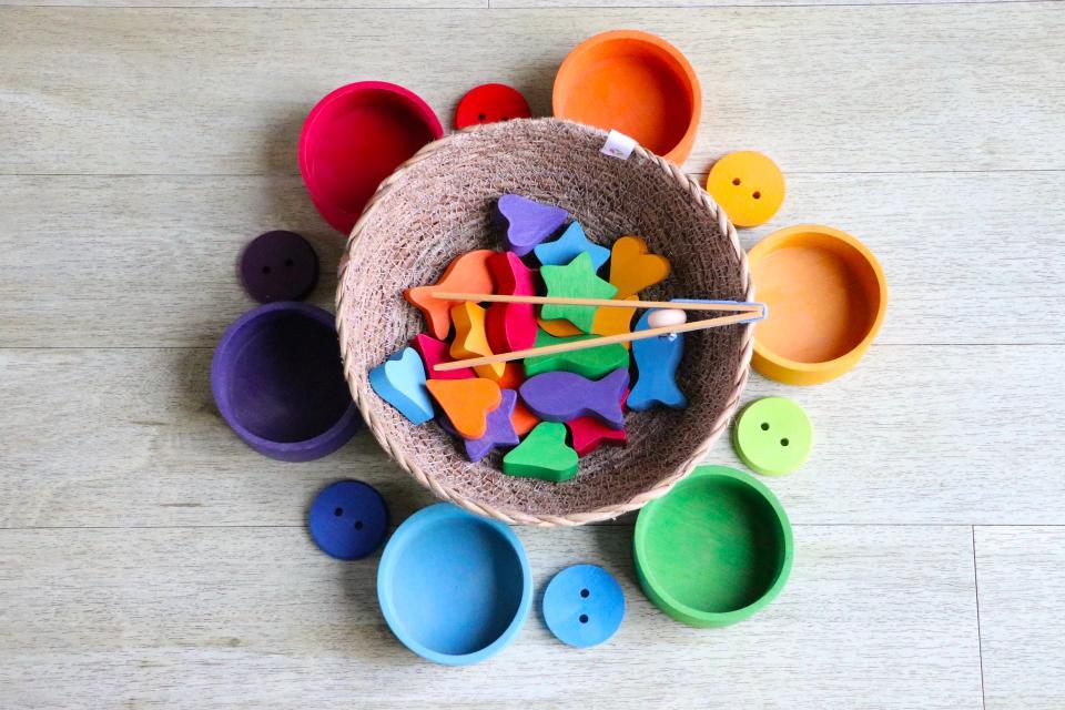 Matreial Montessori sensorial