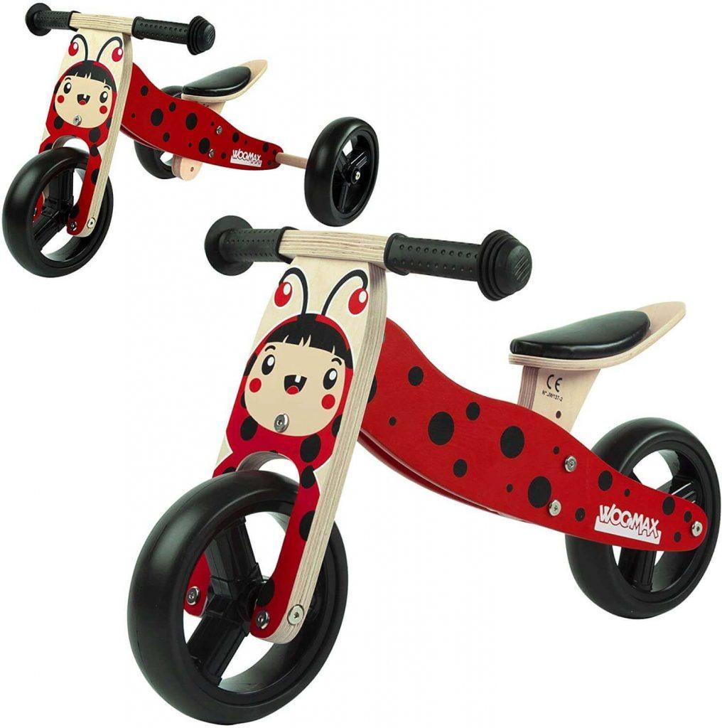 triciclo de madera montessori