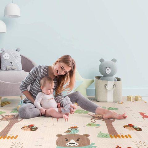 alfombra Montessori para bebés